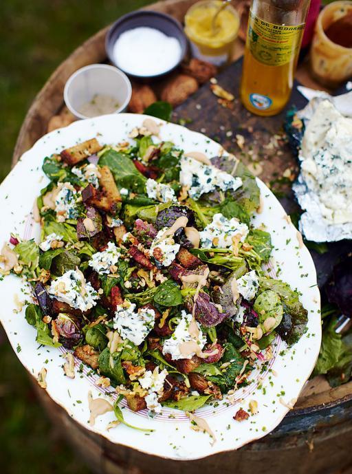 Ресторанные новости - Салат с рокфором от Джейми Оливера