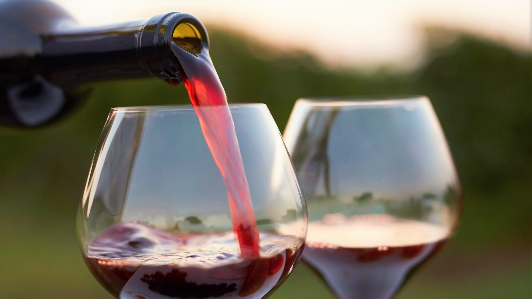 Вино в ресторане